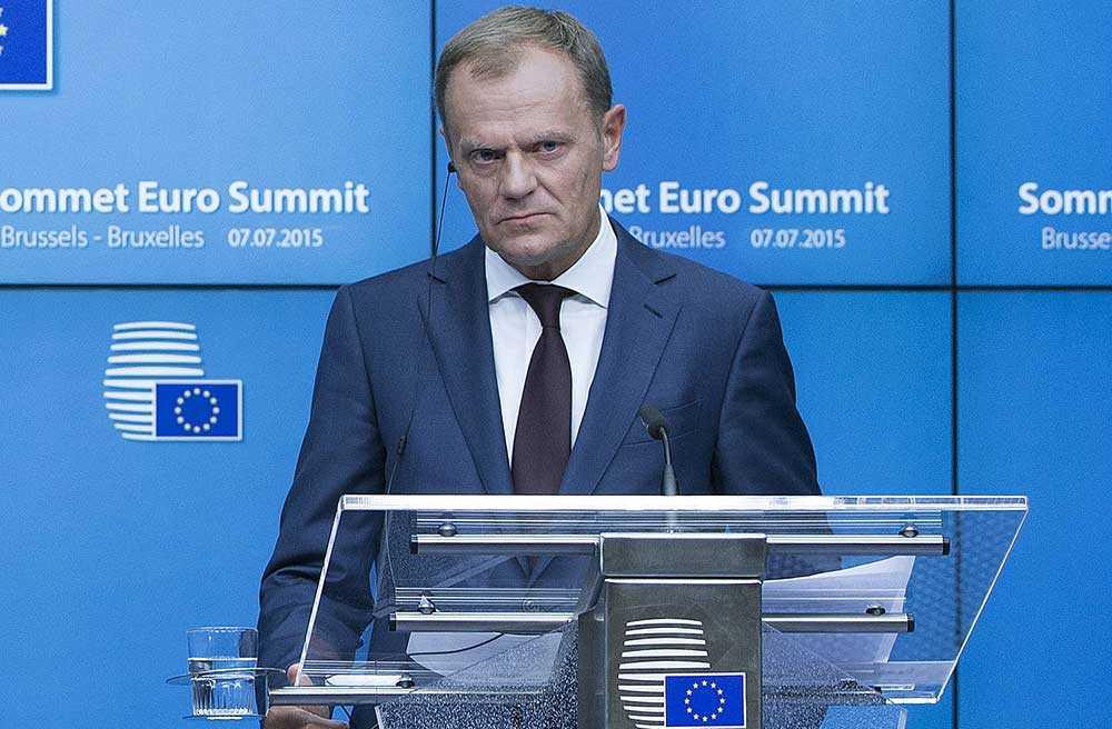 Europeiska rådets ordförande Donald Tusk.