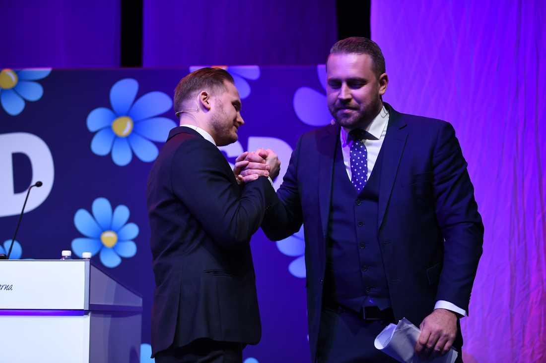 Henrik Vinge och Mattias Karlsson.