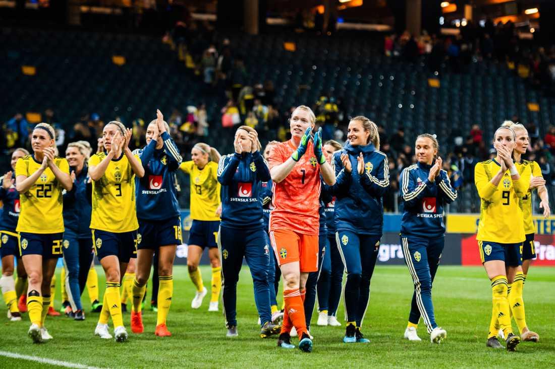 30667881 Foto: JOEL MARKLUND / BILDBYRÅN. LEDARE fre 07 jun 2019. Det är mycket  fotboll just nu. VM i Frankrike ...