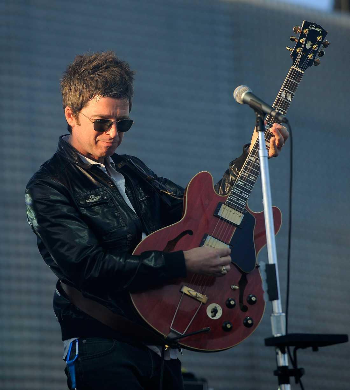 Noel Gallagher bröt ut i tårar i Manchester Arena.