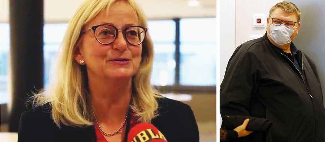 Chefsåklagare Maria Sterup skärpte tonen under rättegången.
