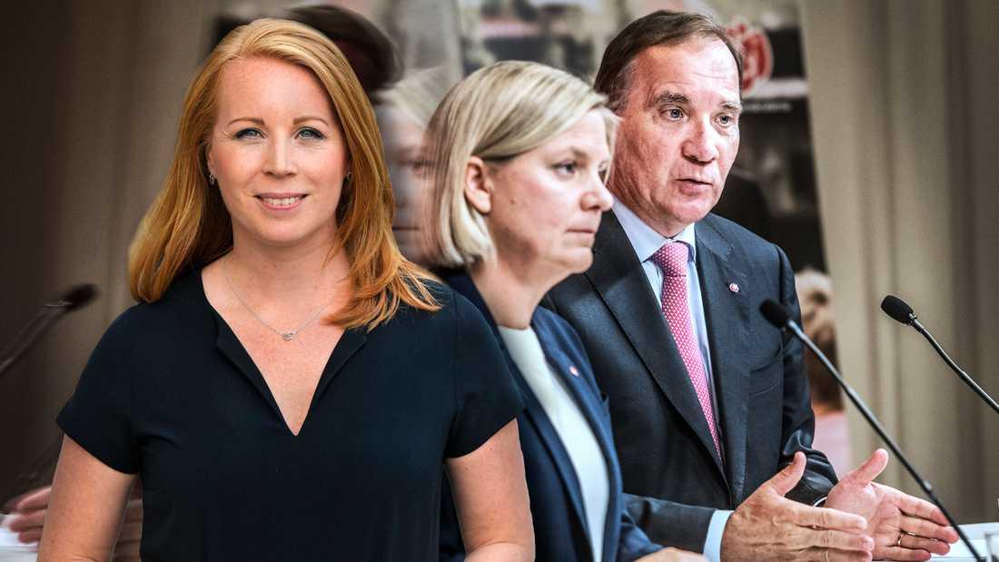Den socialdemokratiskt ledda regeringen har framförallt värderat att stärka sin makt, skriver Annie Lööf