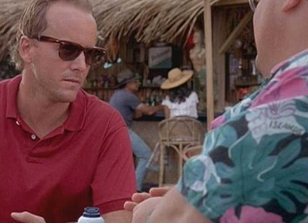 """Cameron Thor i """"Jurassic Park"""" där han spelade skurken Lewis Dodgson."""