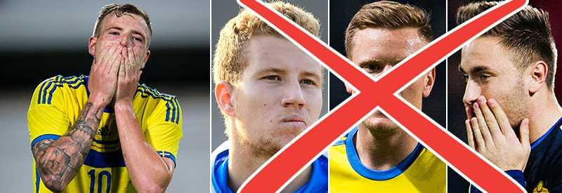 Simon Gustafson, Mattias Johansson och Muamer Tankovic har alla tackat nej till U21-landslaget av olika anledningar.