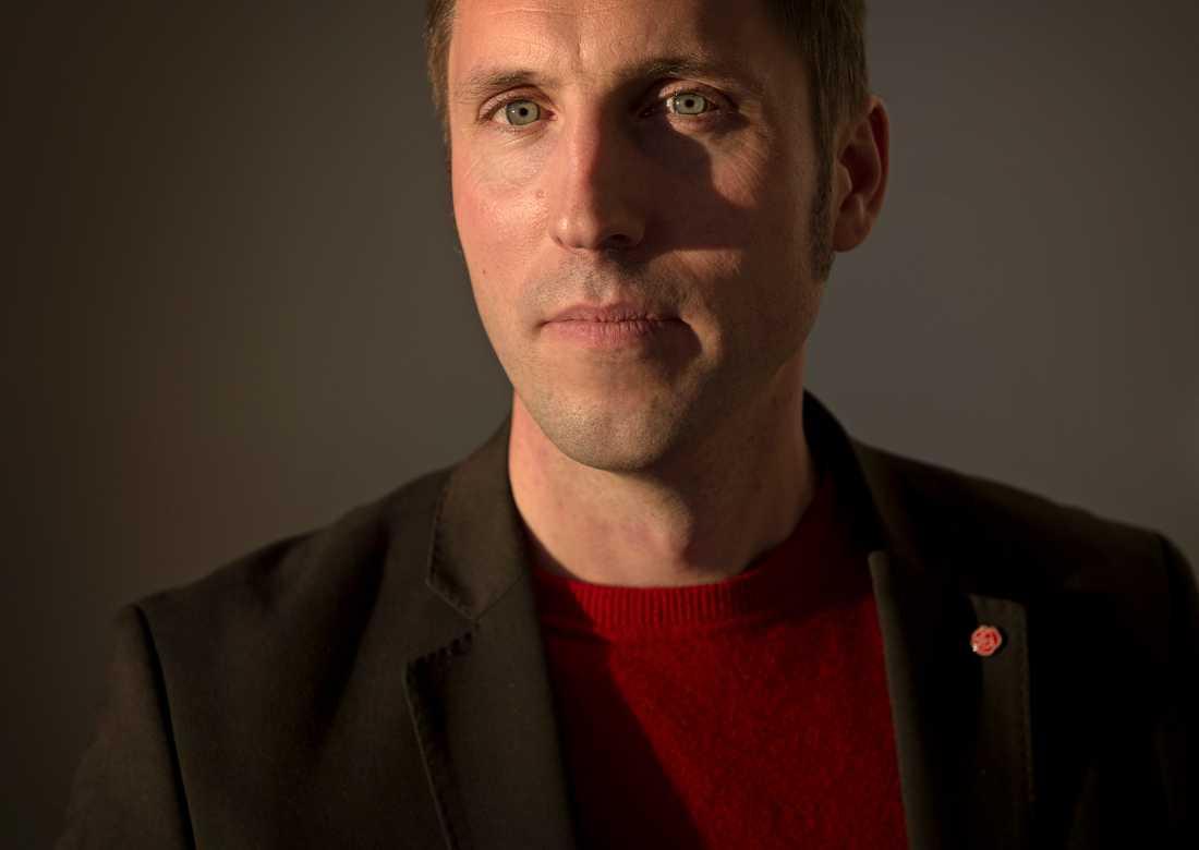Kommunstyrelsens ordförande, Erik Pelling (S).