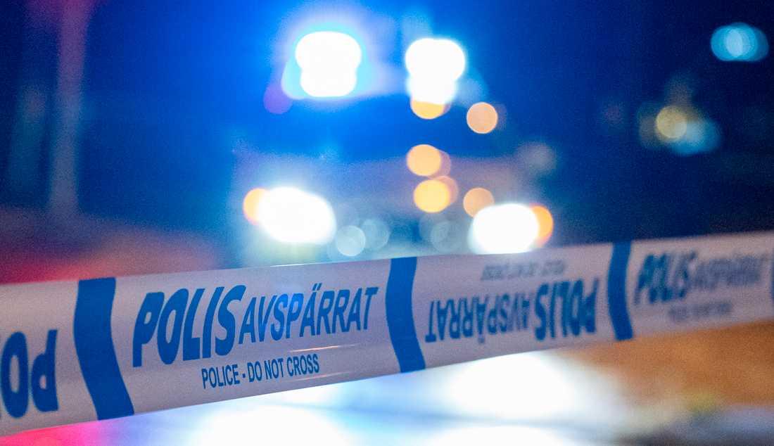 Två maskerade män försökte rån en cyklist under fredagskvällen. Arkivbild.