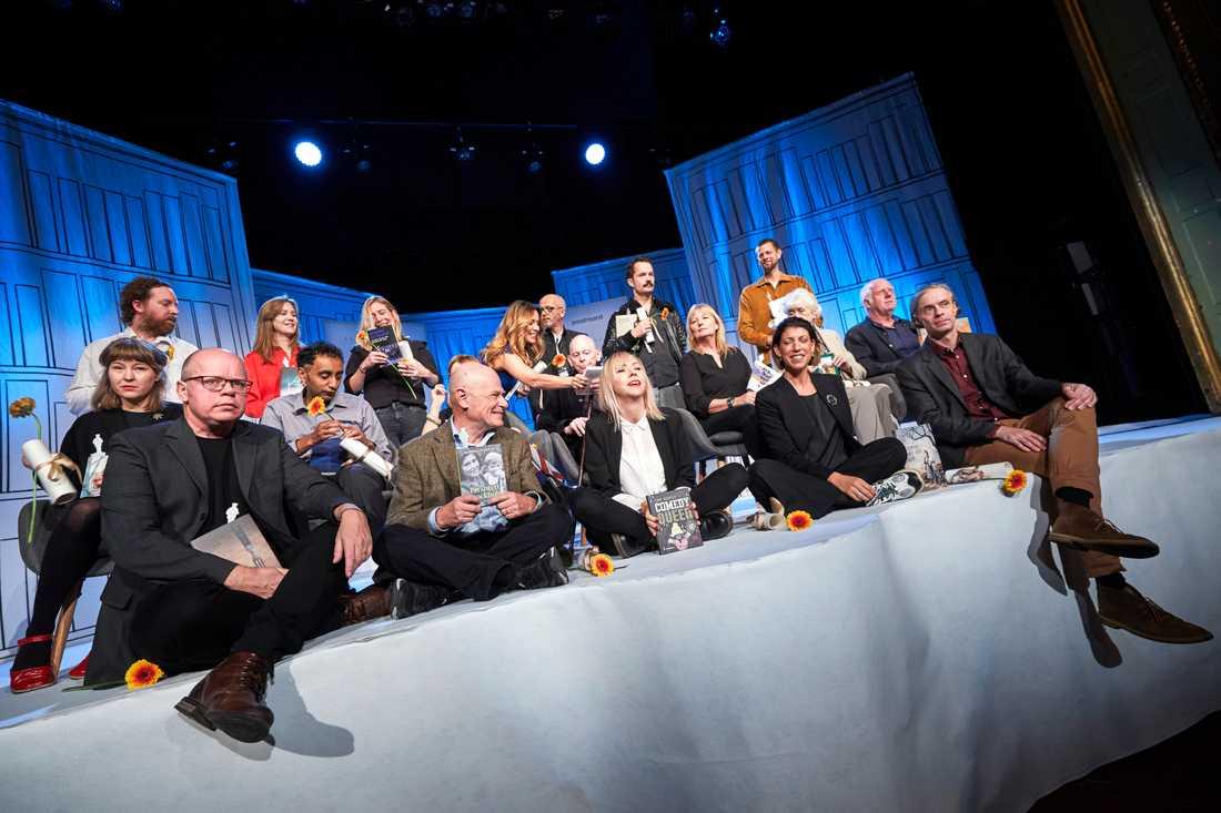 Årets nominerade till Augustpriset presenterades på måndagen på Södra Teatern i Stockholm. Bland dem finns bland annat Kerstin Ekman, Jenny Jägerfeld och Magnus Västerbro.