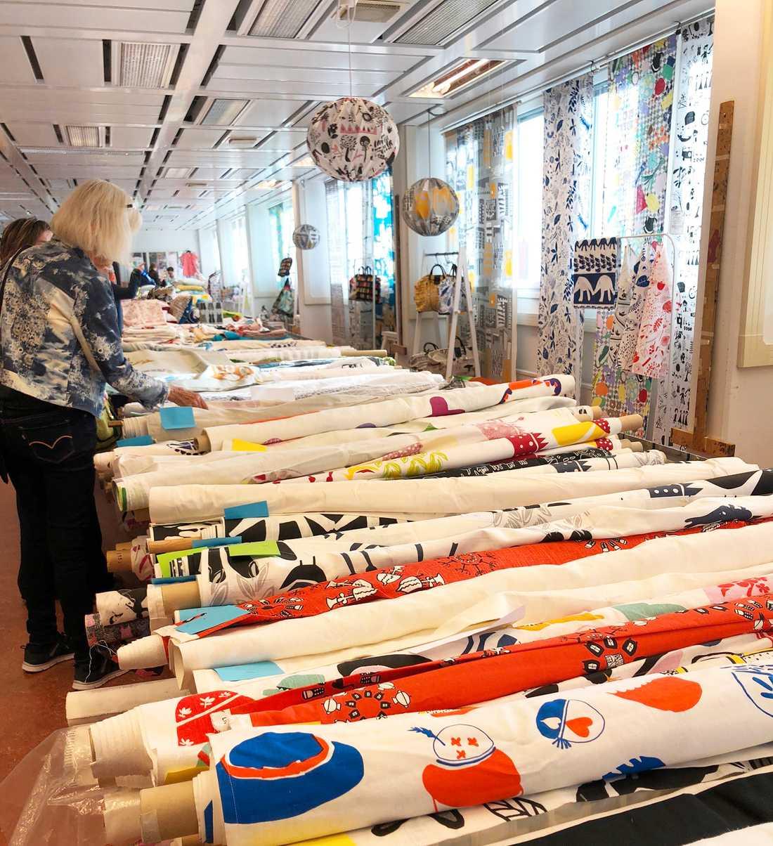 Fem av Livstyckets mönster ska sparas på Stockholms stadsmuseum för framtida forskning.