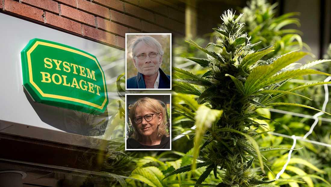 En legalisering av cannabis skulle snarast öka konsumtionen snarare än hjälpa den som riskerar att hamna i missbruk. Med en avkriminalisering av eget bruk skulle den som missbrukar kunna få hjälp snarare än straff, skriver debattörerna.
