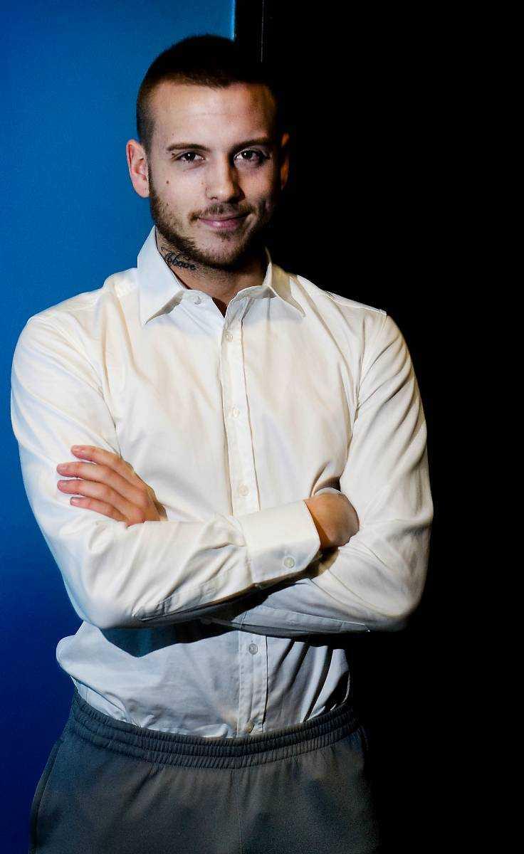 """har imponerat på alla Anton Hysén gjorde succé förra veckan i """"Let's dance"""". Han fick högst poäng av juryn."""