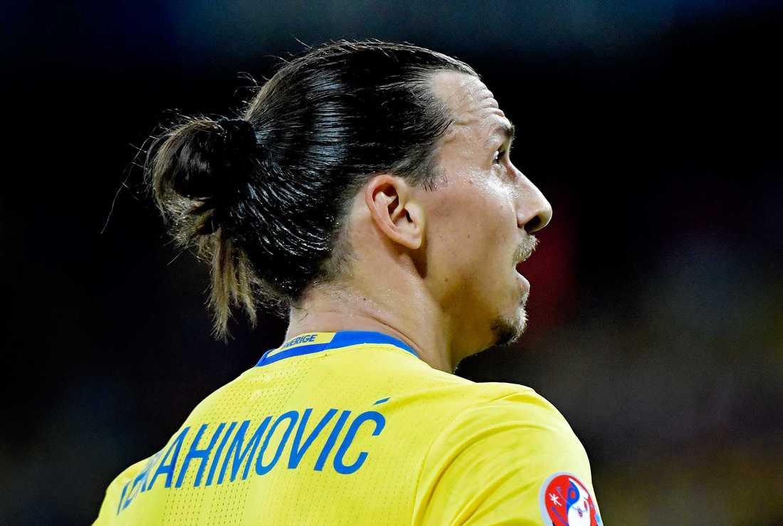 Zlatan Ibrahomivic, en annan profil med tofs.
