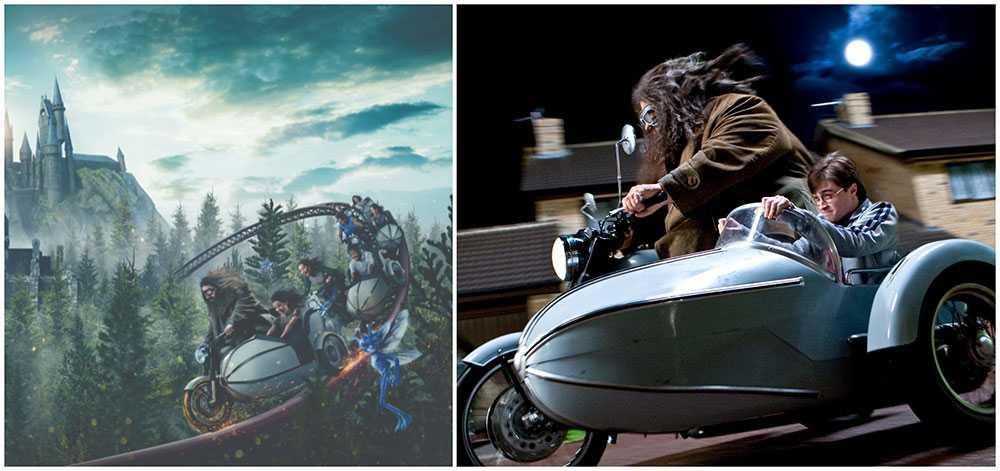 Hagrid's Magical Creatures Motorbike Adventure är en ny åkattraktion på Universal Orlando Resort.