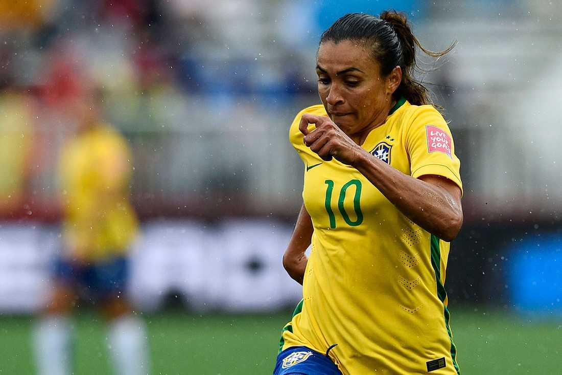 Marta har spelat i Umeå och Rosengård i damallsvenskan.