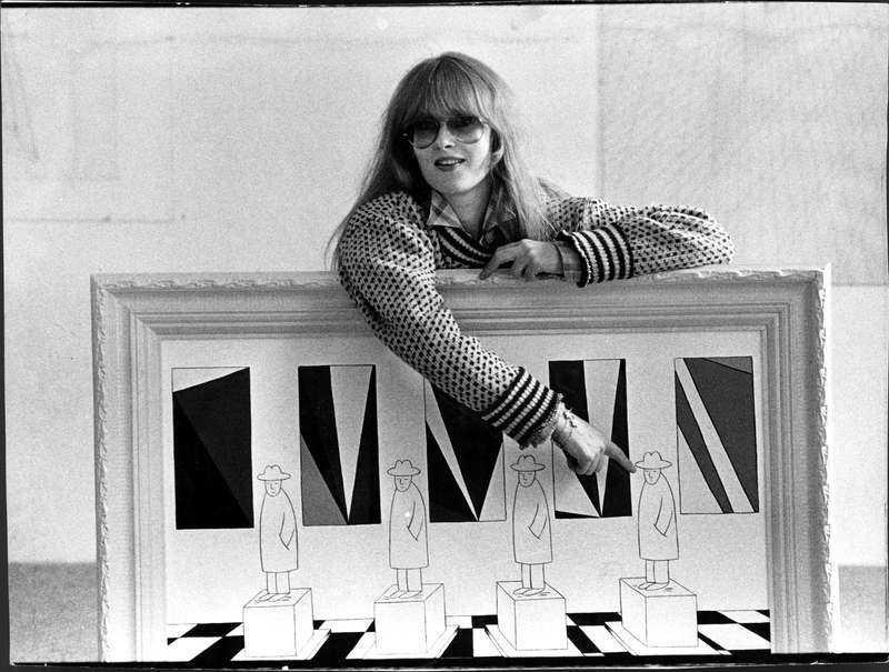 Marie-Louise Ekman 1980.