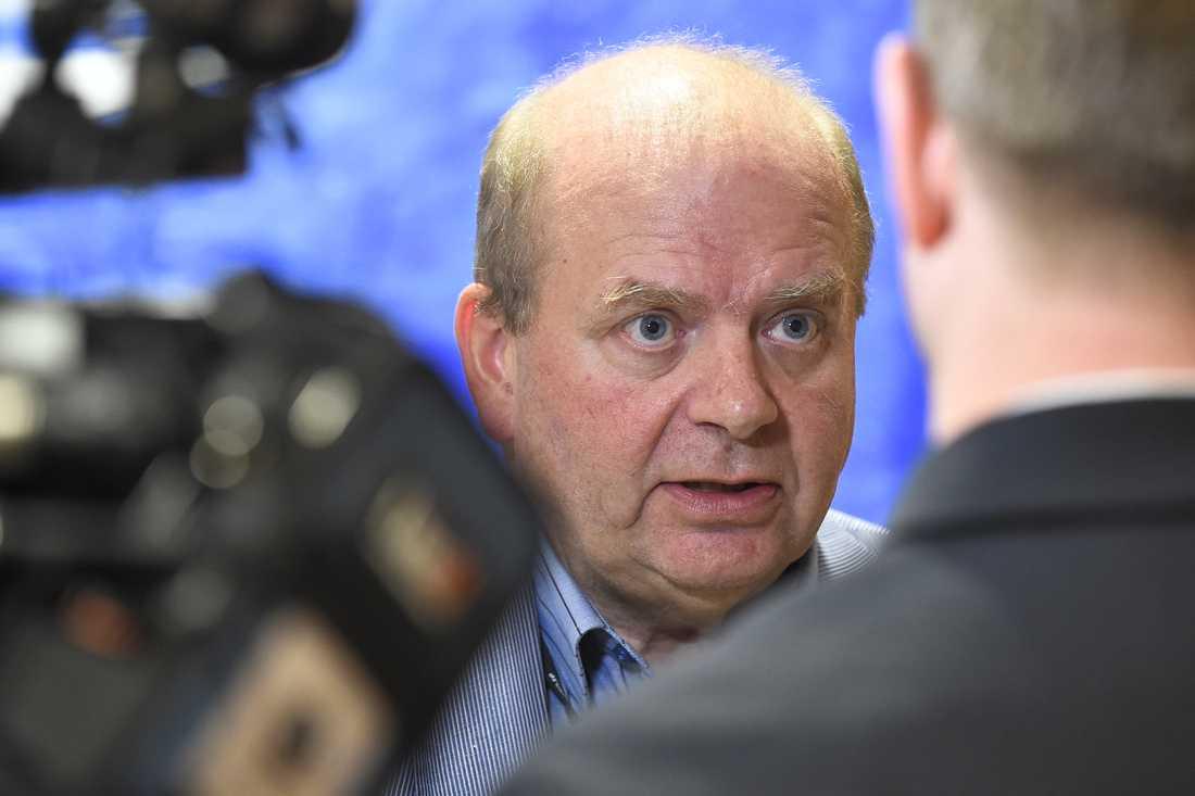 Förre landsbygdsministern Eskil Erlandsson (C) tycks komma in på personröster. Arkivbild.