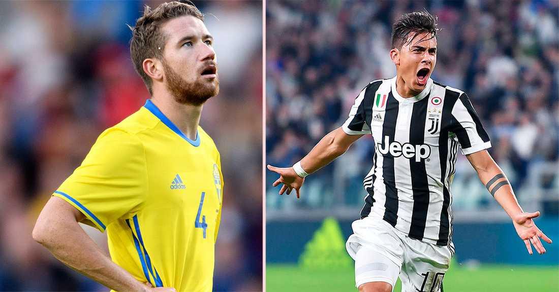 Marcus Rohdén tar plats i veckans lag tillsammans med bland andra Juventus-anfallaren Paulo Dybala.