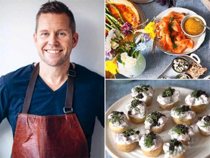Kocken Mattias Larsson tipsar om goda påskmaten.