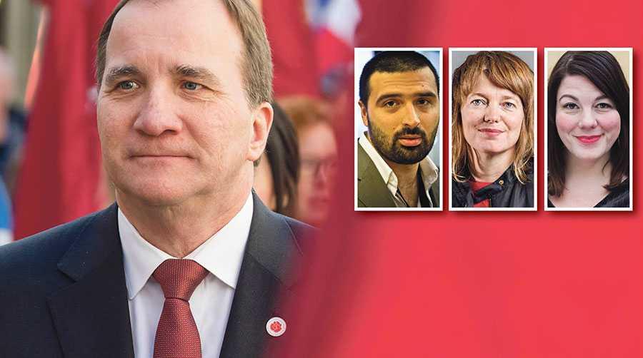 Vi i Vänsterpartiet undrar på allvar – vad håller ni på med? Vad vill Socialdemokraterna 2019? Annat än sitta kvar vid regeringsmakten? skriver Ali Esbati, Malin Björk och Ana Süssner Rubin.