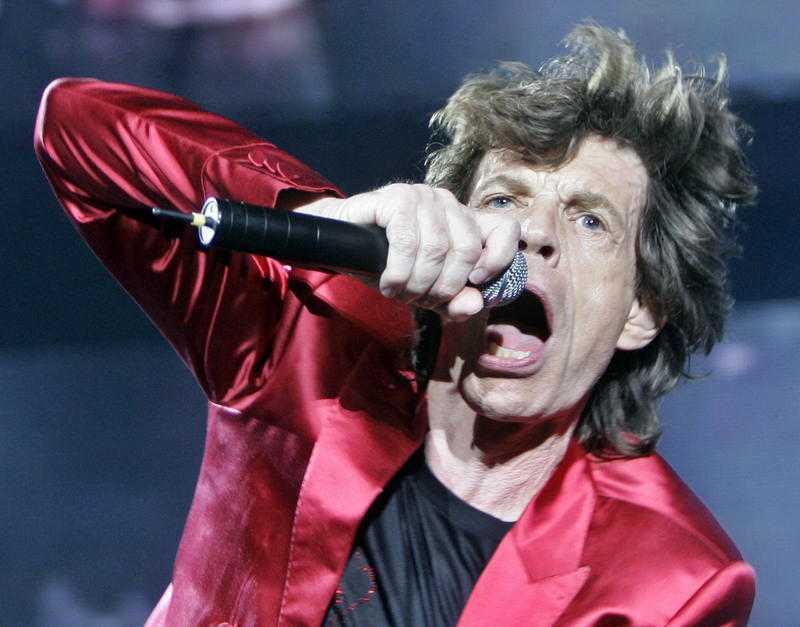Mick Jaggers hår gick för över 40 000 kronor.