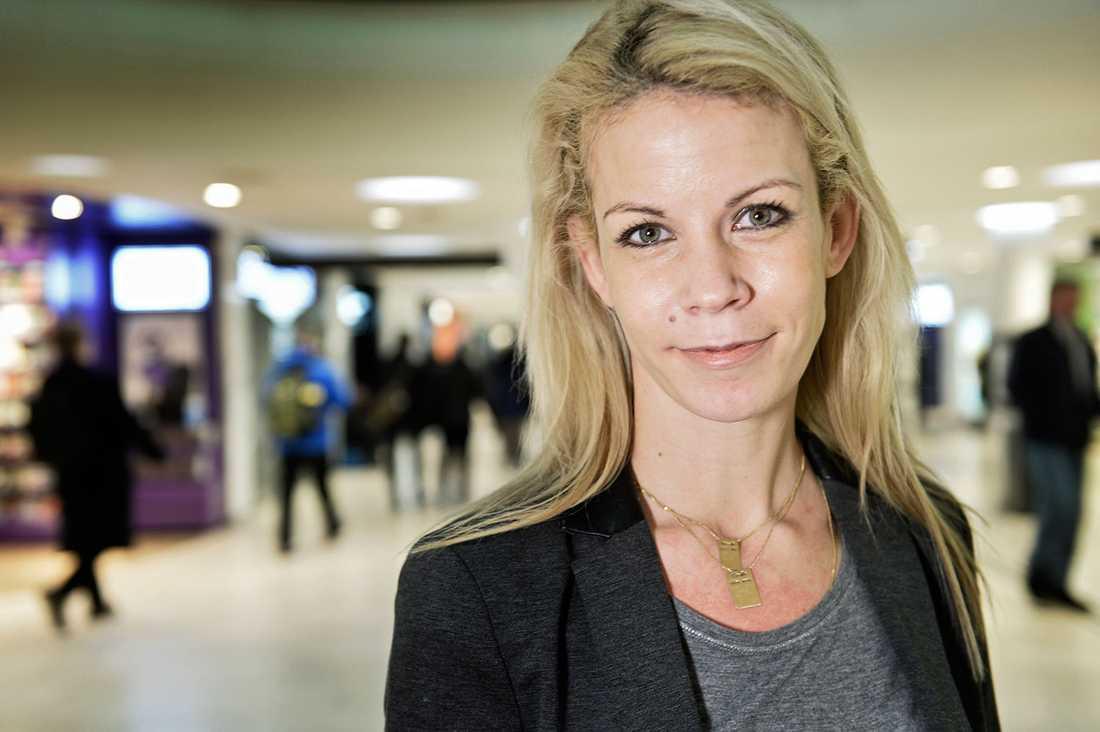Anna König Jerlmyr (M), Stockholms oppositionsborgarråd.