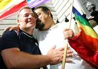Äntligen. Spanska homosexuella jublade över beslutet.