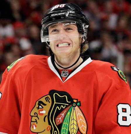 Patrick Kane, 23 år, forward, Chicago Stanley Cup-mästare 2010. 369 poäng på 399 NHL-matcher.