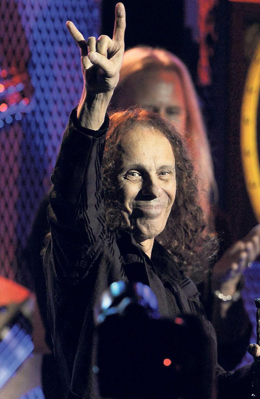 Ronnie James Dio dog i maj, 67 år gammal.