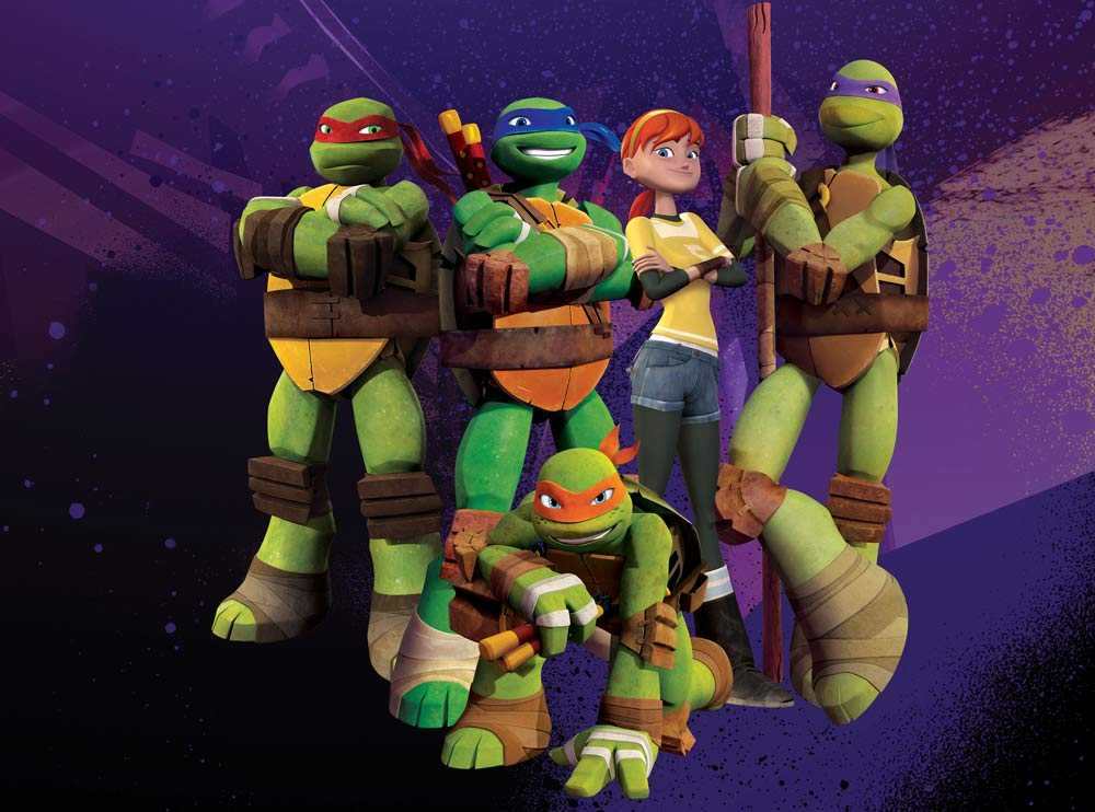 Turtles är tillbaka i tv-rutan.