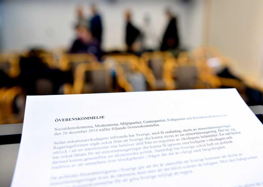 Decemberöverenskommelsen är händelsen som var viktigast för de tillfrågade Kristdemokraterna.