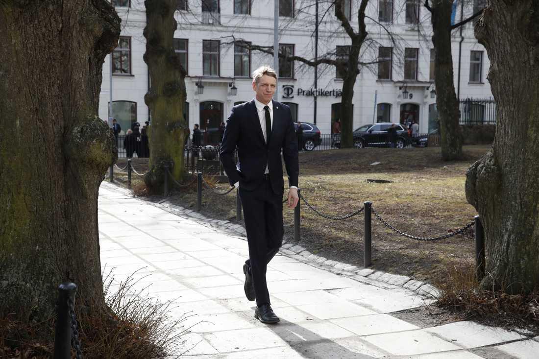 Finanmarknadsminister Per Bolund (MP)