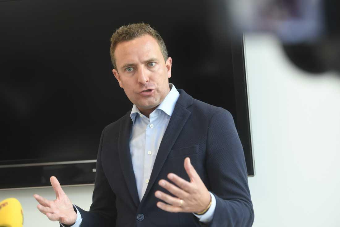 Moderaternas rättspolitiske talesperson Tomas Tobé
