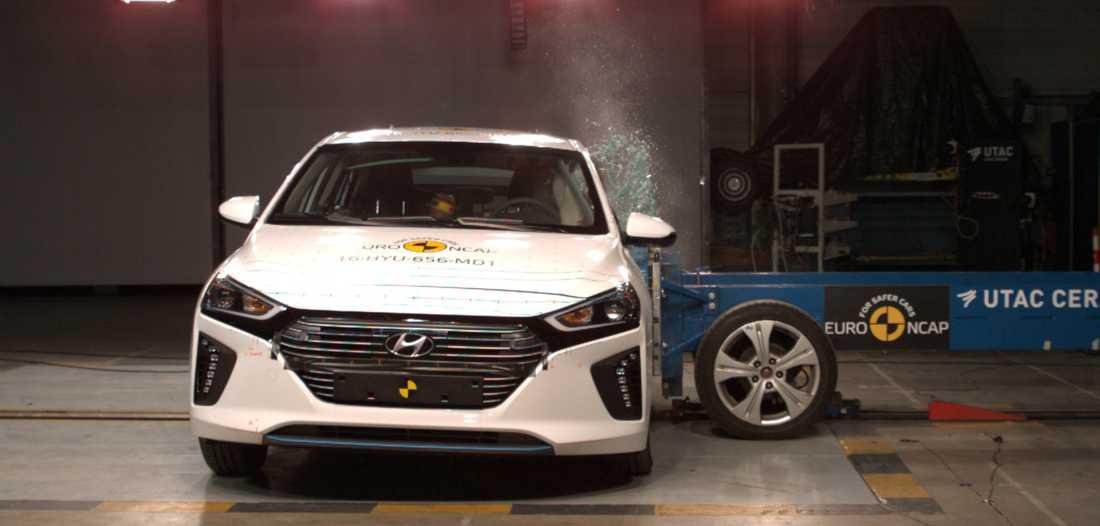 Hyundai Ionic får ett njurslag.