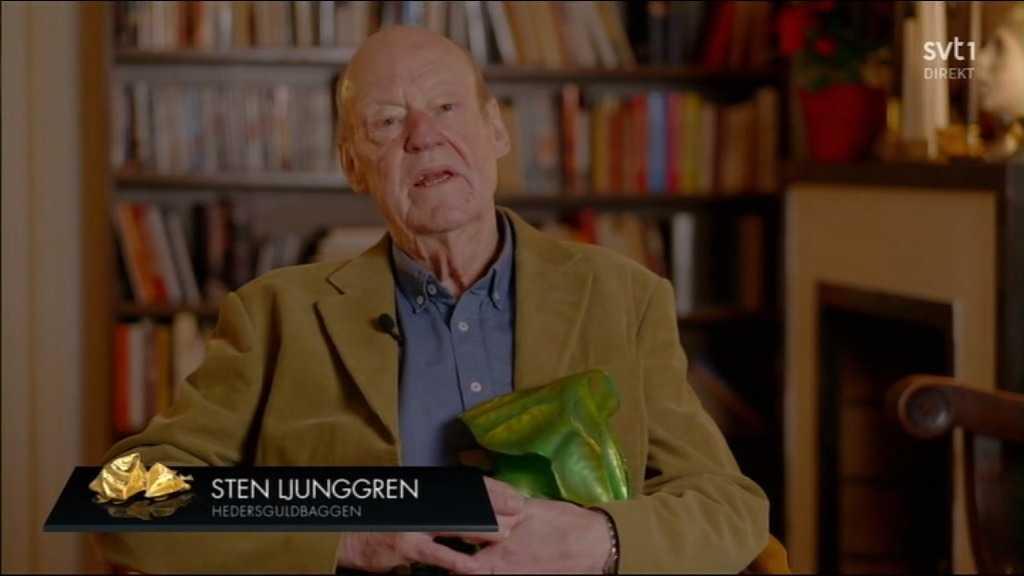 Sten Ljunggren får årets hedersguldbagge.