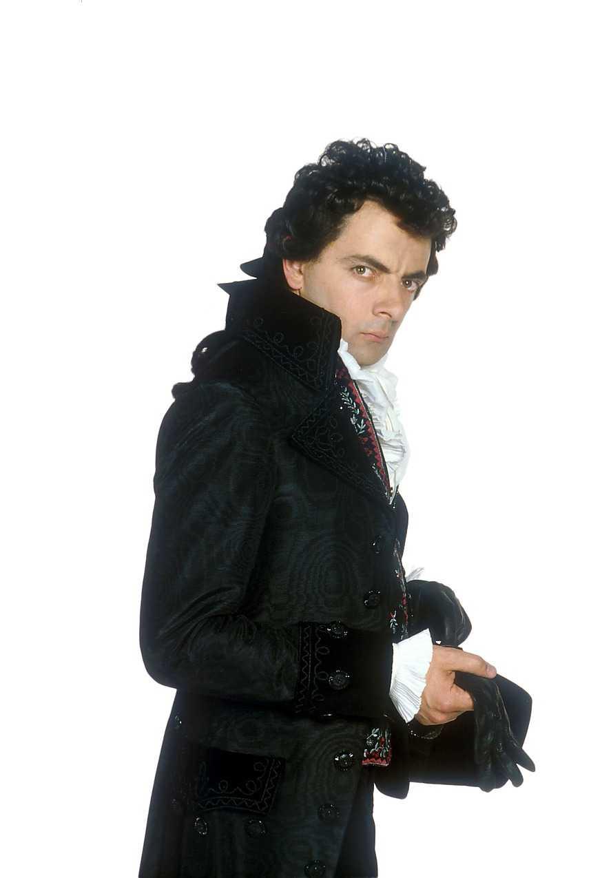 "Rowan Atkinson som ""Svarte orm""."