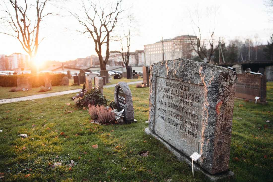 Tiderna förändras och med dem begravningsformerna. Anhöriga väljer mer rationellt och tidsbesparande än förr. Vy över Huddinges kyrkogård i Huddinge.