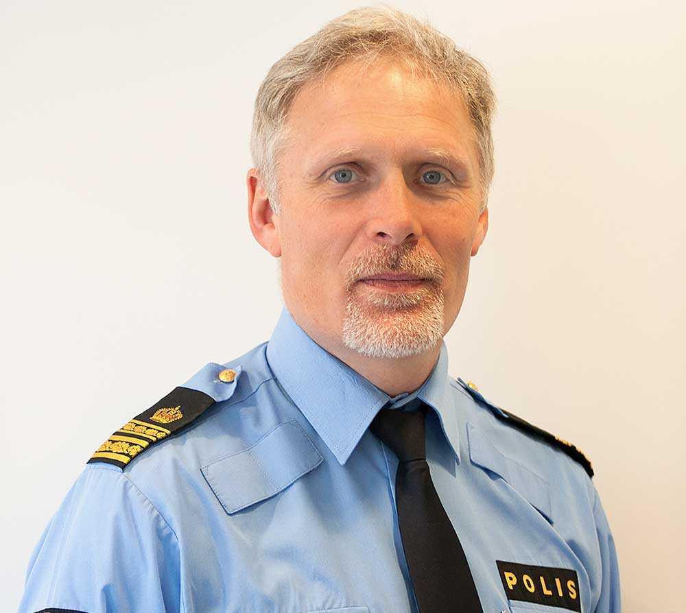 Ulf Merlander, chef i lokalpolisområdet Nordöstra Göteborg.