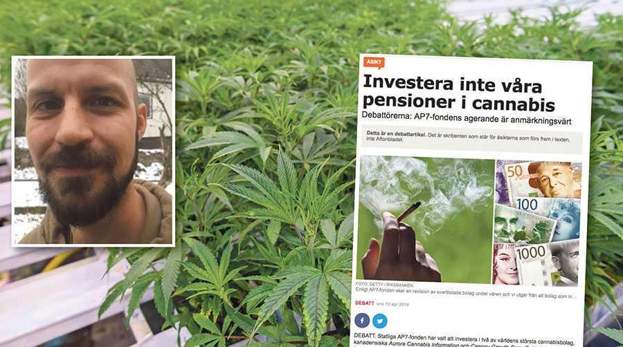 En blomstrande global cannabisindustri har potential att bli en central komponent i omställningen till ett hållbart samhälle, skriver Adrian Engström.