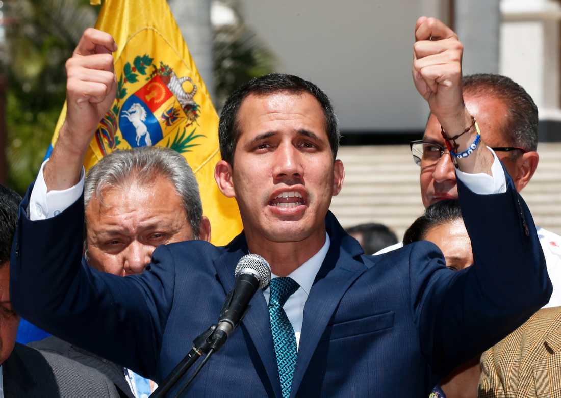 Oppositionsledaren Juan Guaido.