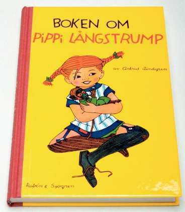 RÄTT FÄRG S å här ska Pippi se ut - som hon gör på Astrid Lindgrens första bok.