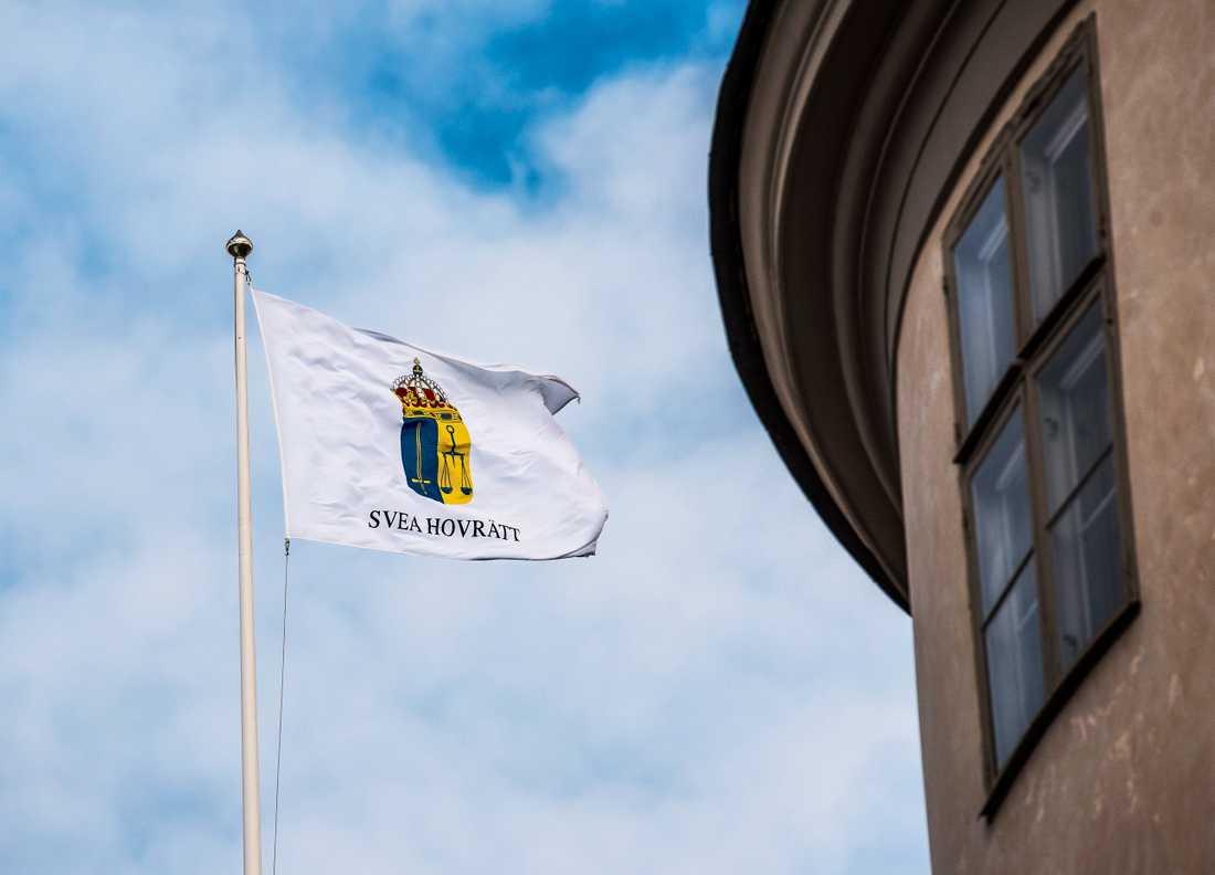 Svea hovrätt fastställer morddomen i Uppsala tingsrätt. Arkivbild.