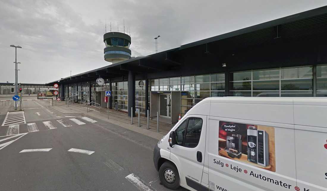 Roskildes flygplats har evakuerats.