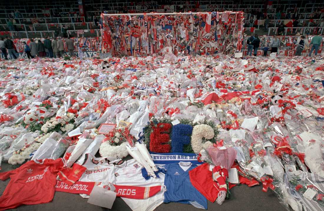 96 omkom på arenan