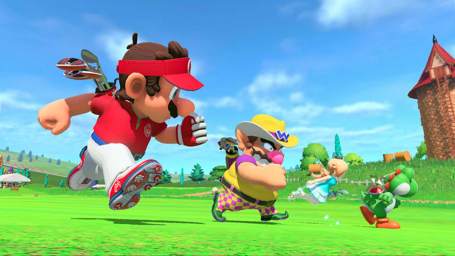 """Nya """"Mario Golf: Super Rush"""" gör sig som bäst ihop med andra - men på egen hand faller det aningen kort."""