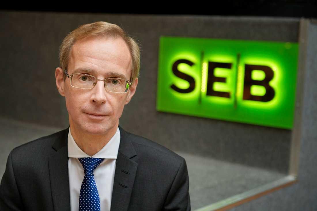 SEB:s chefsekonom Robert Bergqvist anser att flera indikatorer för Europas ekonomi börjat peka uppåt. Arkivbild.