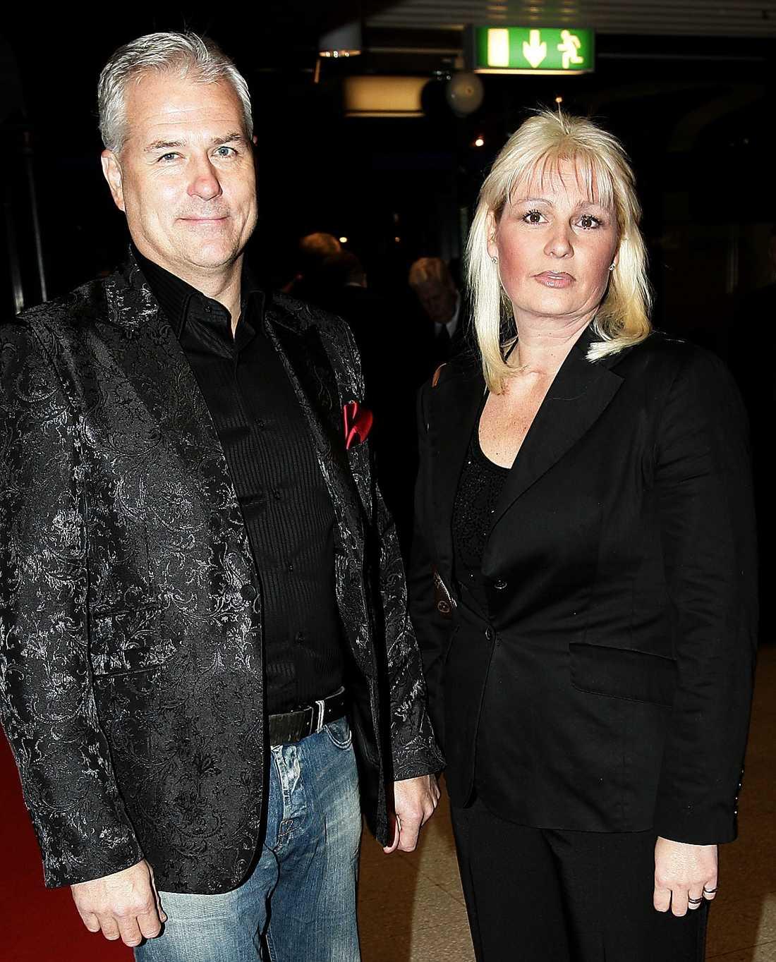 Glenn och Helena Hysén.
