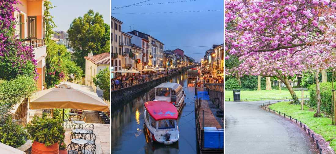 Vår är en härlig tid att resa i Europa.