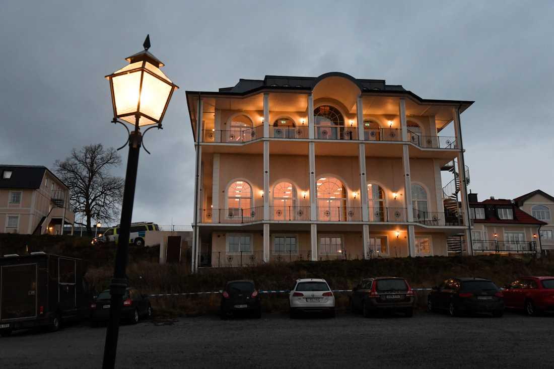 Johannesbergs slott i Rimbo norr om Stockholm, där fredssamtal om Jemen kommer att äga rum.
