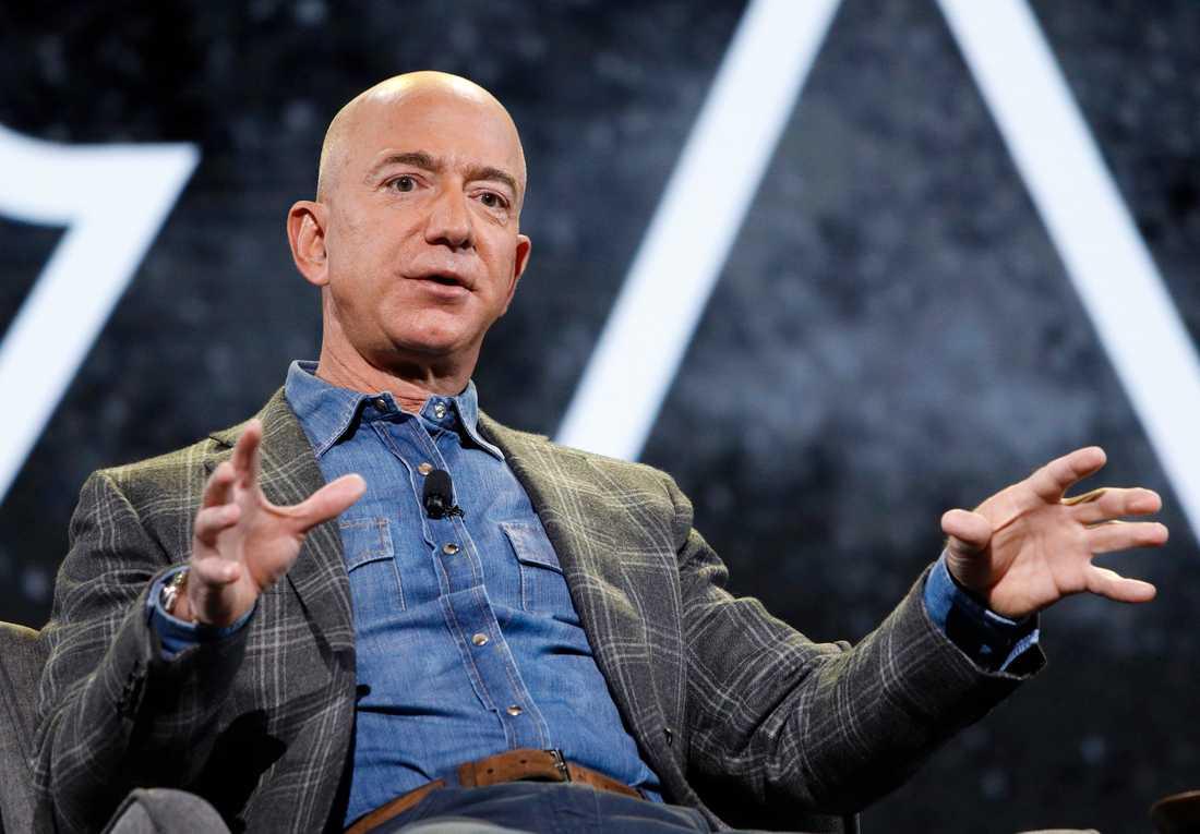 Amazons vd Jeff Bezos.