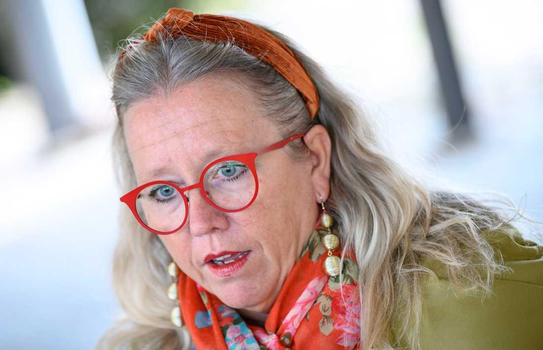 Moderaternas gruppledare i Sölvesborg Kith Mårtensson är förvånad över uppmärksamheten, säger hon.