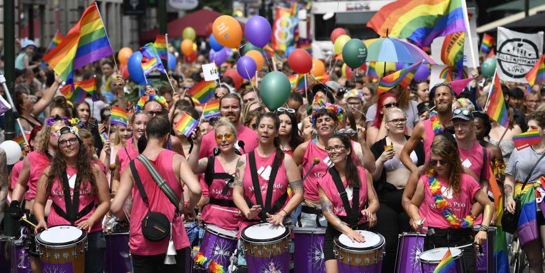 Malmö Pride i juni 2018 var det största hittills. Ett halvår senare uppdagades att föreningen var konkursmässig.
